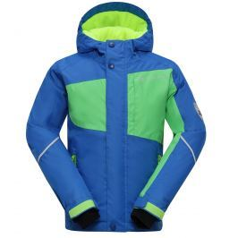 Chlapecká zimní bunda Baudouino - modrá 116-122 cm