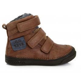 Chlapecké zateplené boty - hnědé EUR 27