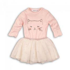 Dívčí dvojkomplet Minoti tutu sukně+body Rule, růžový