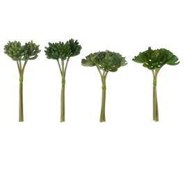 Sada 4 umělých rostlin J-Line Nature