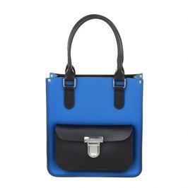 Dámská kožená kabelka Brix and Bailey Taylor Mini, modro-černá