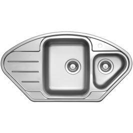 Nerezový dřez Sinks Lotus 945.1 V, leštěný