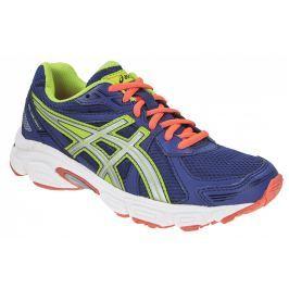 Dětské běžecké boty Asics Gel Galaxy 7, modré/oranžové