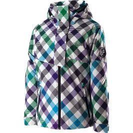 Dětská zimní bunda Rehall Susi Aop, vícebarevná