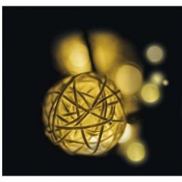 16LED XMAS BALL 3M IP20 WW