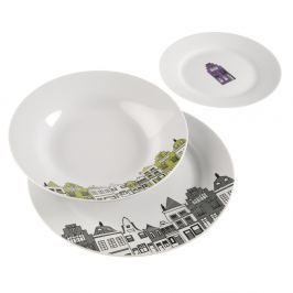 Set 18 talířů Versa Dinner Set
