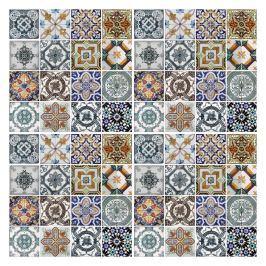 Sada 4 samolepek na stěnu Walplus Středozemní mozaika