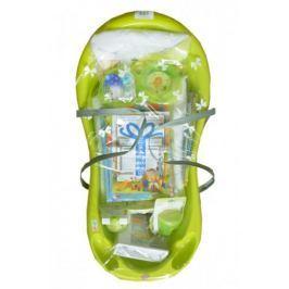 Startovací sada pro novorozence 13-dílná - limetková
