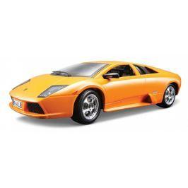 Kovový model luxusního auta BBurago Bugatti EB 110 Super Sport, oranžové