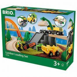 Vláčkodráha Brio s nákladním vlakem