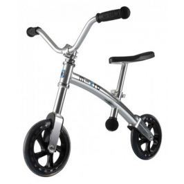 Dětské odrážedlo Micro G-Bike Chopper, stříbrné