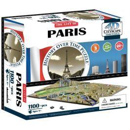 4D CITYSCAPE 4D PUZZLE Cityscape Time panorama Paříž