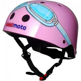 Cyklistická helma Kiddimoto Google, růžová, velikost M