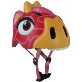 Dětská helma Crazy Safety In-mold Červená žirafa 2017, S (49-55 cm)