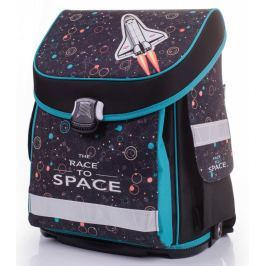 Školní anatomický batoh Karton P+P, Premium raketoplán