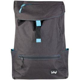 BAAGL Studentský batoh Black