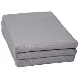 Skládající matrace Candide Air+, 60x120 cm, šedá