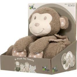 Plyšová hračka s dekou Bo Jungle Monkey