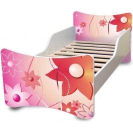 Dětská postel Ourbaby Květinky, 140x70 cm