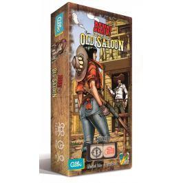 Rozšíření hry Albi Bang kostky Old Saloon