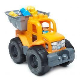 Autíčko Mega Bloks Náklaďák 2v1, oranžový