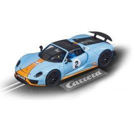 Autíčko Carrera Porsche 918 EVO 27549 Spyder Gulf Racing No.02