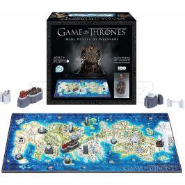 4D City Puzzle Hra o Trůny Conquest Westeros MINI