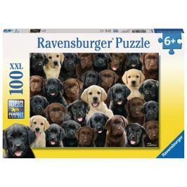 Puzzle Ravensburger Labradoři 100 dílků