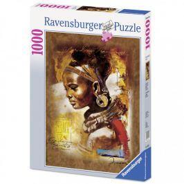 Puzzle Ravensburger Africká kráska 1000 dílků