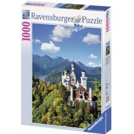 Puzzle Ravensburger Neuschwastein - podzim na zahradě, 100 dílků