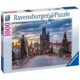 Puzzle Ravensburger Praha Procházka po Karlově mostě, 1000 dílků