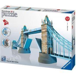 3D puzzle Ravensburger Tower Bridge Londýn, 216 dílků