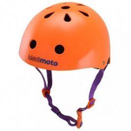 Kiddimoto Cyklistická helma Matt Orange, velikost S