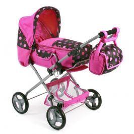 Dětský kočárek Bayer Chic Bambina pro panenky, růžový
