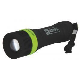 LED svítilna Emos P3853 s fokusem, 1W, nárazuvzdorná