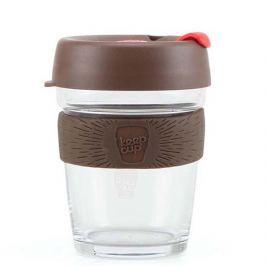 Skleněný hrnek Keep Cup, 227 ml, hnědý