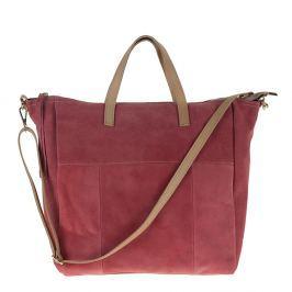 Dámská kabelka Pitti Bags Judy, kožená, růžová