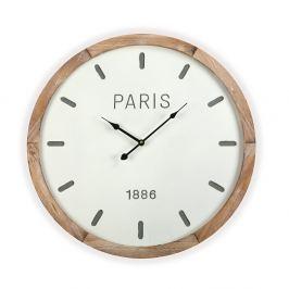 Nástěnné hodiny Versa Woodenito, 60 cm
