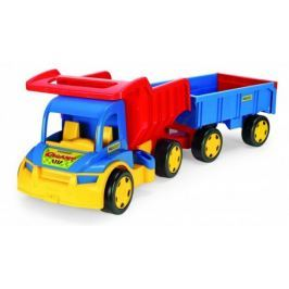 Auto Wader Gigant truck + dětská vlečka