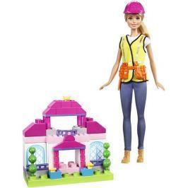 Hrací set Mattel Barbie Stavitelka