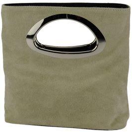 Dámská kabelka Giulia Pamela-Cam-TP, kožená, béžová