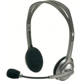 Headset Logitech H110 - černý