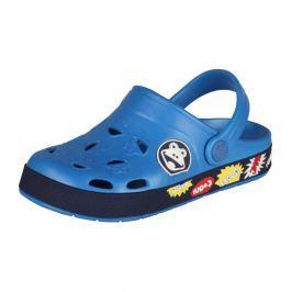 Dětské sandály Coqui Froggy, modré