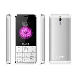 Mobilní telefon CUBE 1 F400 - stříbrný