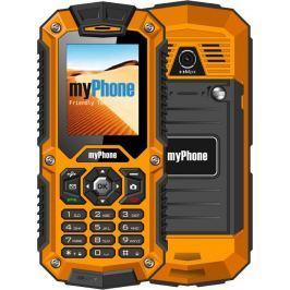 Mobilní telefon myPhone HAMMER DUAL SIM - černý/oranžový