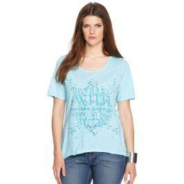 Dámské tričko s.Oliver, modré