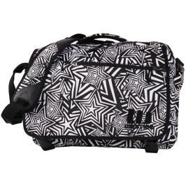 Westige Star Laptop Bag Black/White