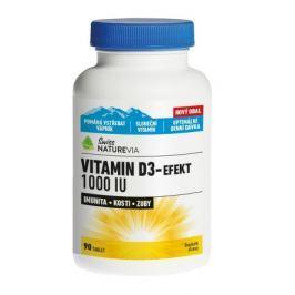 Swiss VITAMIN D3-efekt 1000 I.U., tbl. 90
