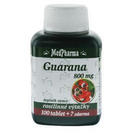 MedPharma Guarana 800mg tbl.107 Pamět a soustředění
