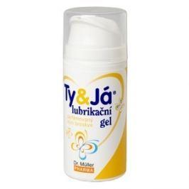 Lubrikač.gel Ty&Já parf.vůní broskve 100ml Dr.Müll